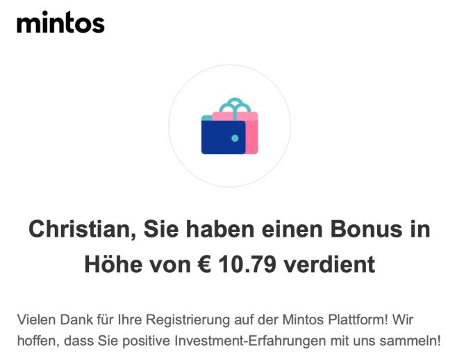 Mintos Bonus